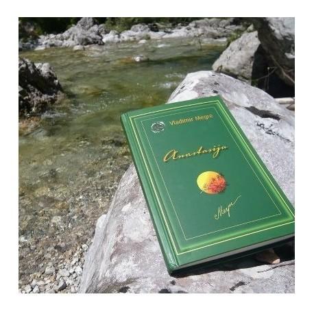 Paket za ozaveščanje 1 Knjiga Anastasija in olje iz oreščkov s.cedre obogateno z 10% terpentinom/smola