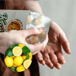 KEDRA BONBONI ZA ODKAŠLJEVANJE-Limona